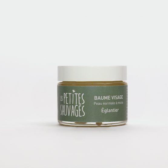 Le baume visage EGLANTIER est conçu pour les peaux normales à mixte