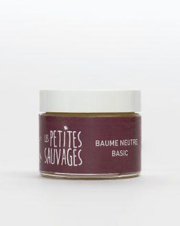 Le baume neutre BASIC est LE baume à adopter. sans huiles essentielles il convient à tous à partir de 3 ans