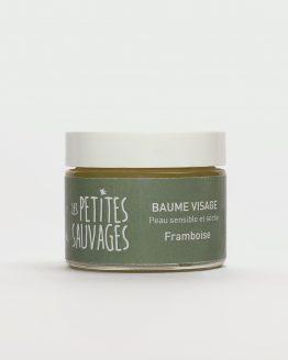 Le baume visage peau sensible et sèche FRAMBOISE et un soin complet pour le visage