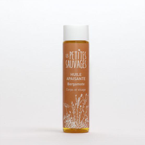 L'huile apaisante BERGAMOTE est une huile pour le corps