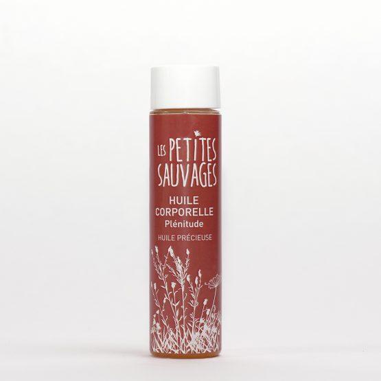 l'huile corporelle PLENITUDE,Une huile de soin pour le corps, pour harmoniser tout notre être et nos corps subtils.