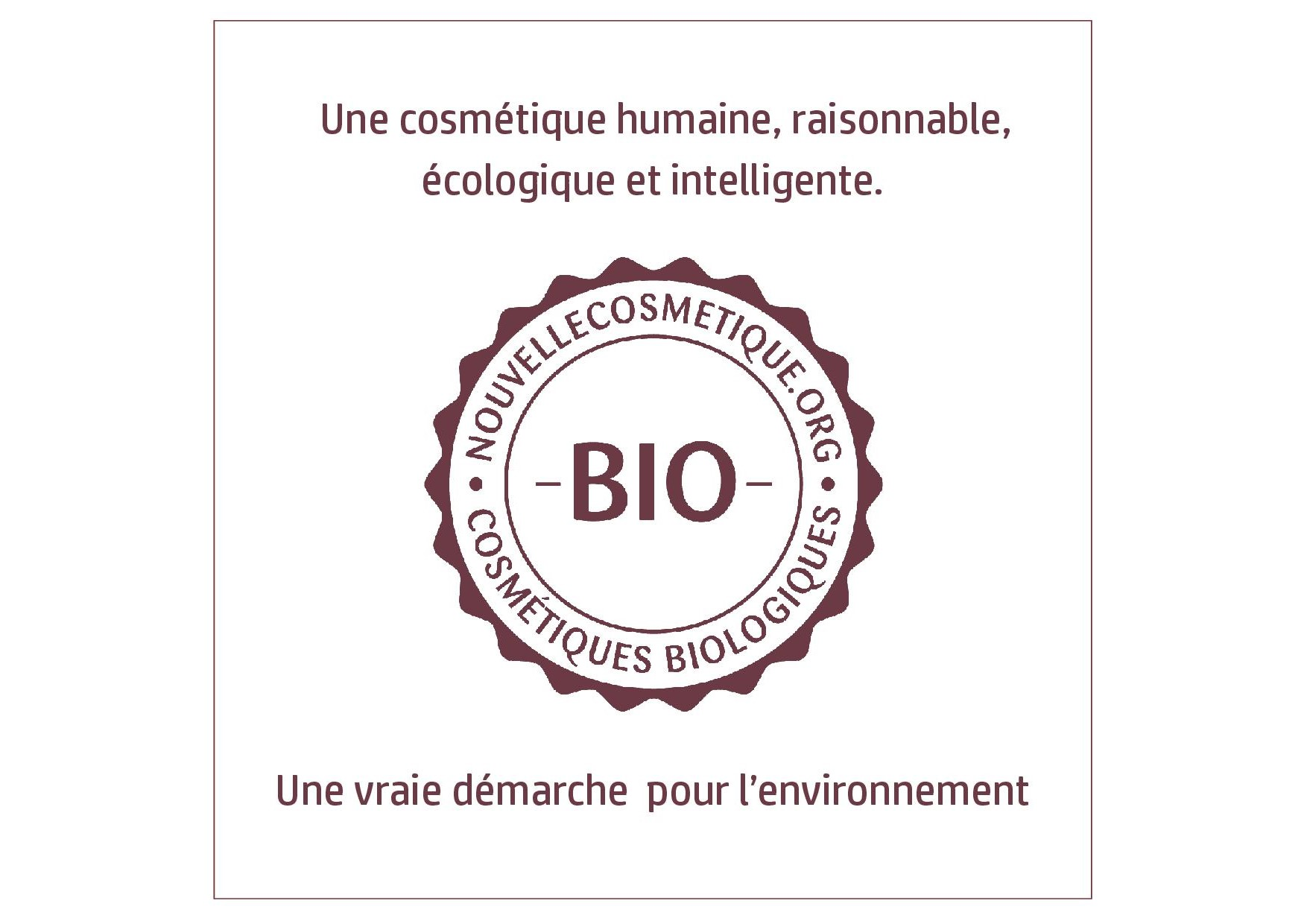 label bio nouvelle cosmetique
